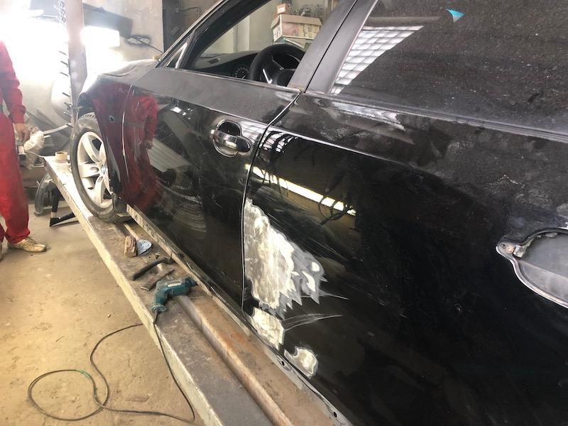 сколько времени занимает покраска машины купить форд транзит в белоруссии грузовой кредит